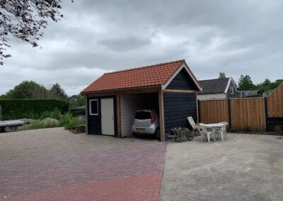 tuinhuis opgeleverd door bouwbedrijf Reus in de regio Enkhuizen